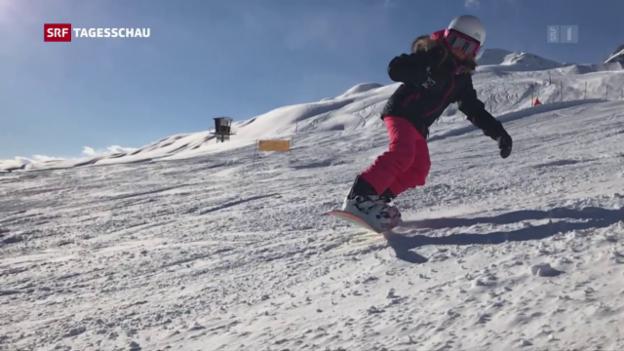 Video «Gute Saison für Skigebiete» abspielen