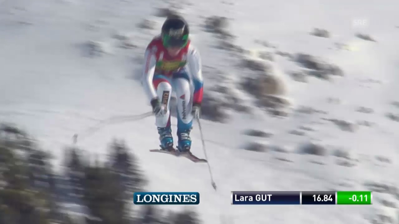 Ski: Super-G Lake Louise, Lara Gut