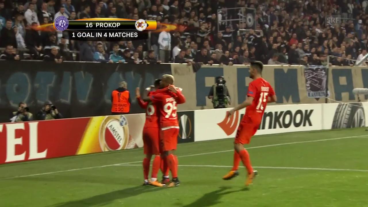 Rijeka kommt gegen Austria Wien unter die Räder