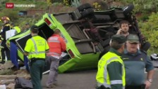 Video «Busunfall auf Gran Canaria» abspielen