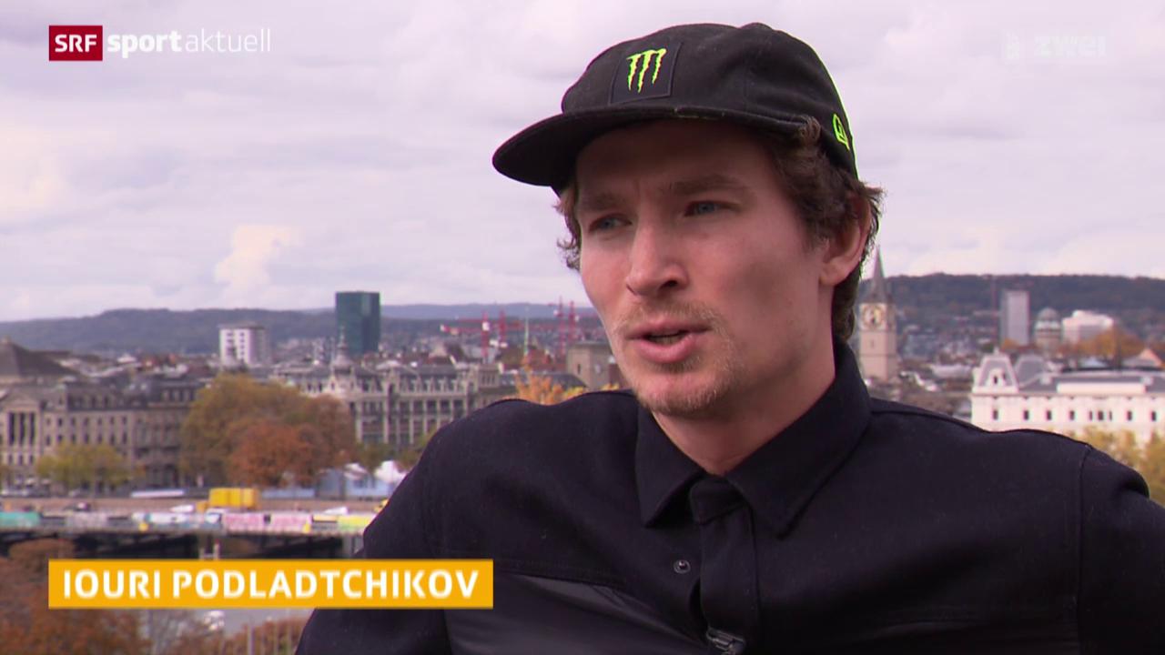 Snowboard: Iouri Podladtchikov und seine neuen Ziele