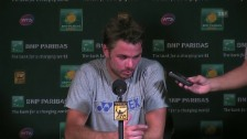 Video «Wawrinka: «Ganz einfach: Kein gutes Spiel von mir»» abspielen