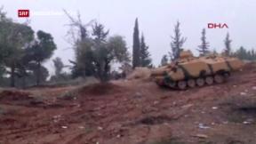 Video «Türkische Offensive in Nord-Syrien» abspielen