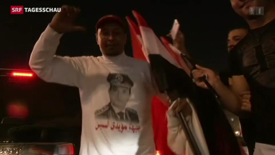 Al-Sisi gewinnt Präsidentenwahl