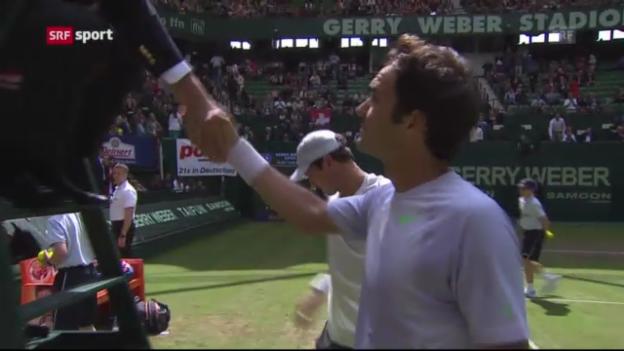 Video «Tennis: Federer - Zverev («sportaktuell»)» abspielen