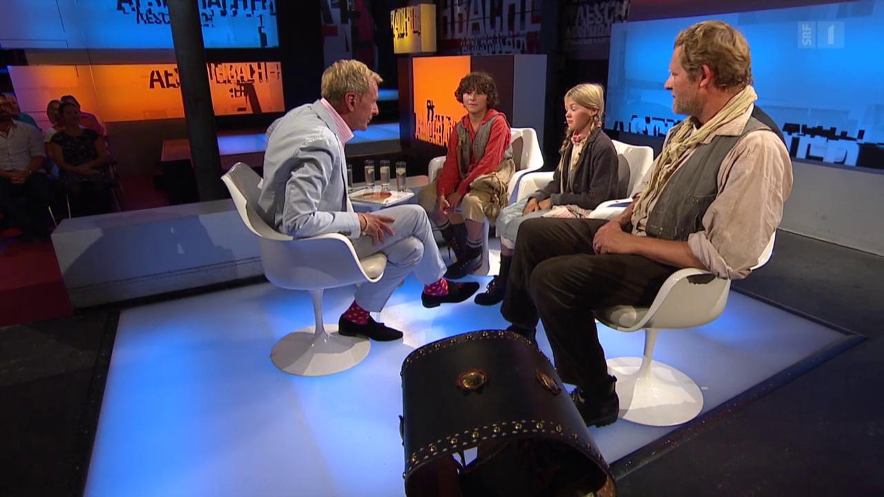 Jonas Hartmann, Julia Jeker und Marcus Signer