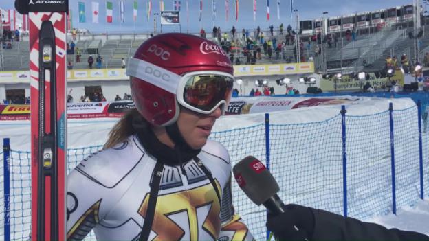 Video «Ski oder Board? Ledeckas schwere Entscheidung» abspielen