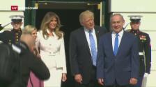 Video «Trump: Nicht mehr nur Zwei-Staaten-Lösung» abspielen