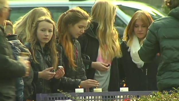Video «Die Schüler in Haltern trauern» abspielen