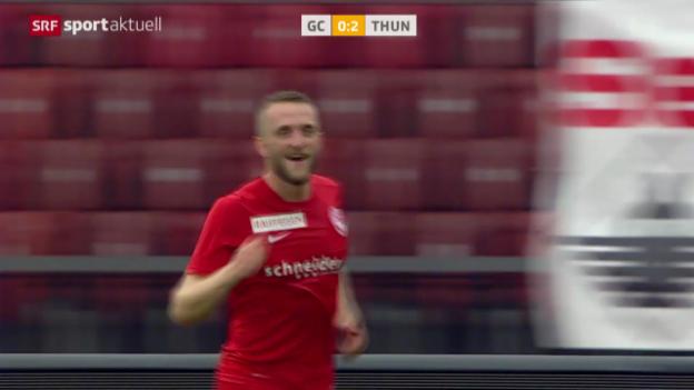 Video «Fussball: Super League, GC - Thun» abspielen