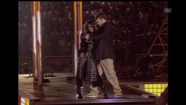 Video «2004: Janet Jackson und Justin Timberlake» abspielen