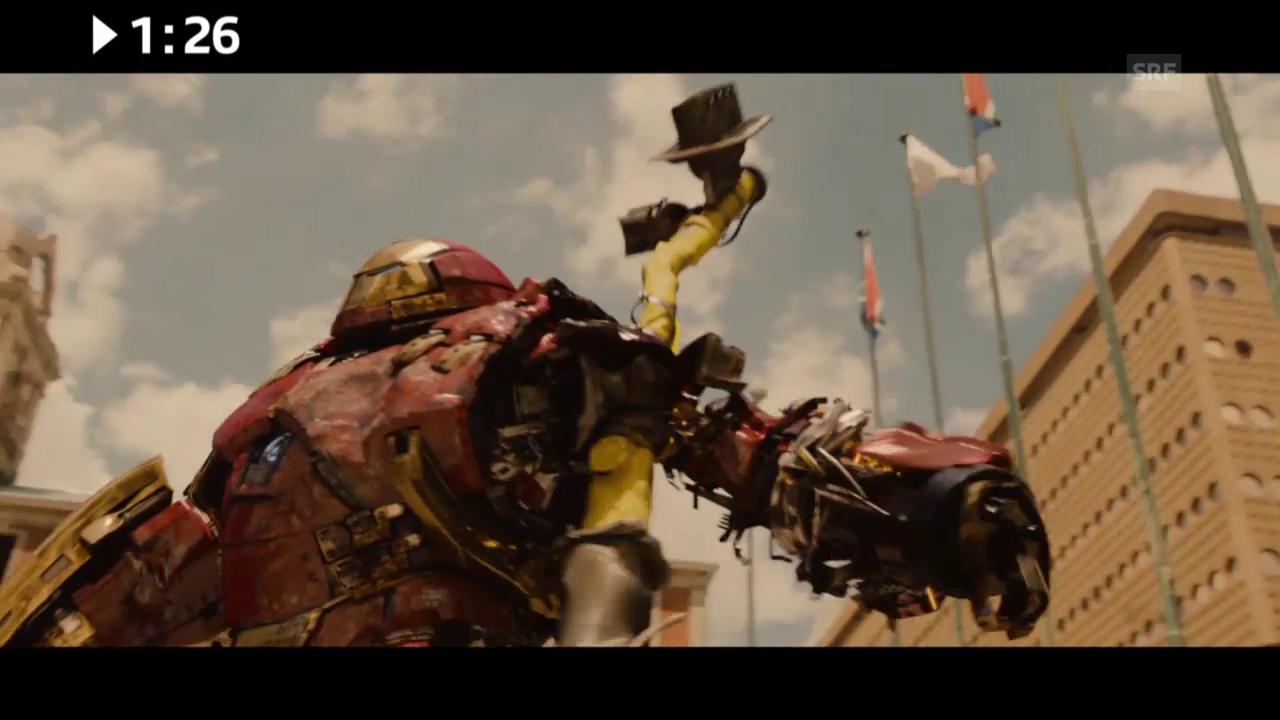 Keine 3 Minuten: «Avengers: Age of Ultron»