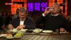 Video «Wie schmeckt die Röschti mit Kimchi unseren Gästen?» abspielen
