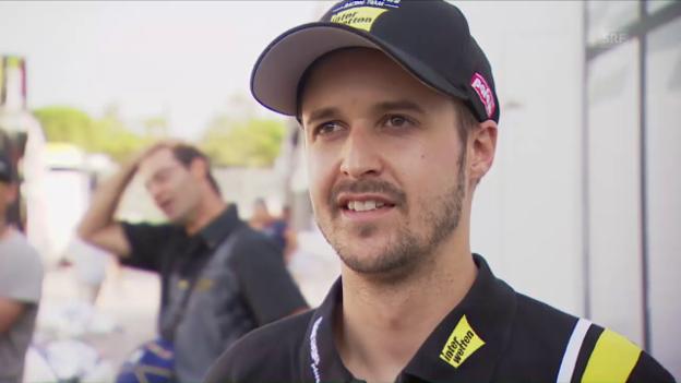 Video «Tom Lüthi über das Qualifying und die Abstimmungsprobleme» abspielen
