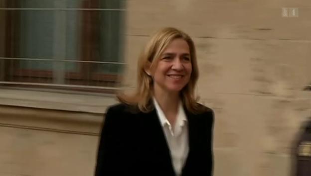 Video «Prinzessin Cristina von Spanien soll angeklagt werden» abspielen