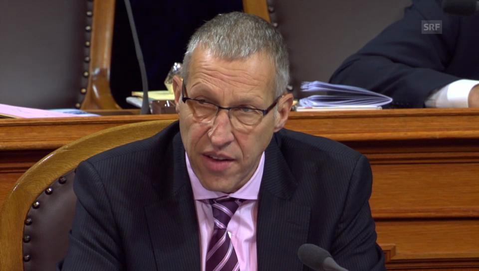 Graber: «Pauschalsteuer ist mit 22'500 Stellen verbunden»