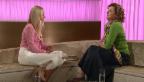 Video «Nicole Berchtold begrüsst Milena Moser im «G&G Weekend»-Studio» abspielen