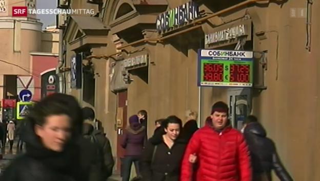 Video «Inkrafttreten der EU-Sanktionen» abspielen