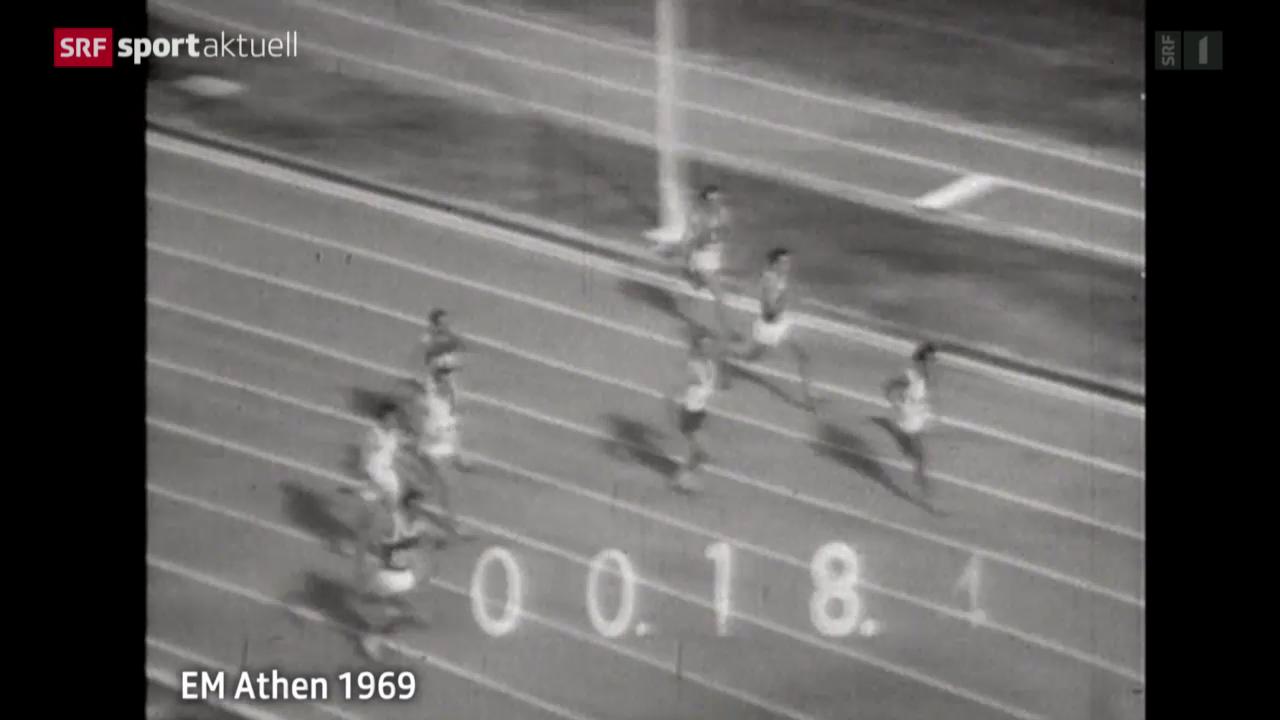 Leichtathletik: EM-Serie, Schweizer Erfolge im Sprint