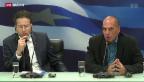Video «Eklat in Griechenland» abspielen