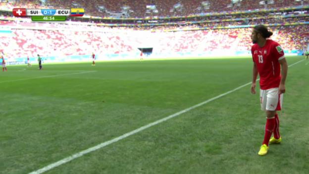 Video «Ricardo Rodriguez' Assists gegen Ecuador» abspielen