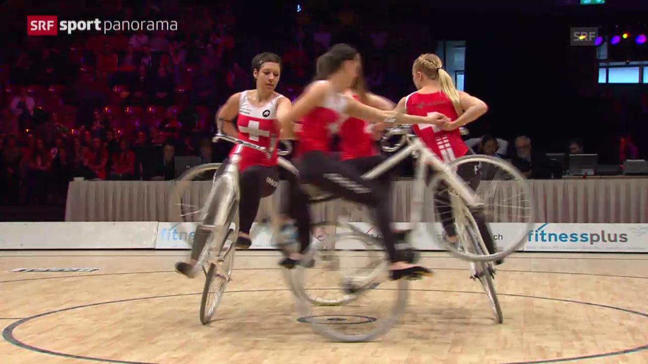 Kunstrad: Schweizerinnen holen WM-Silber