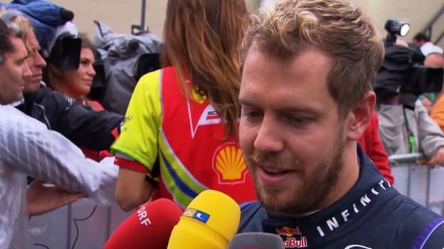 Video «Formel 1: Interview mit Sebastian Vettel» abspielen