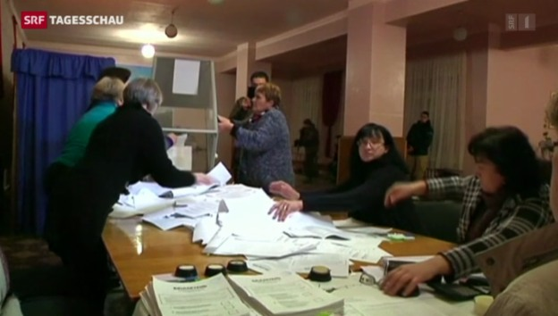 Video «Droht der Ukraine die Spaltung?» abspielen