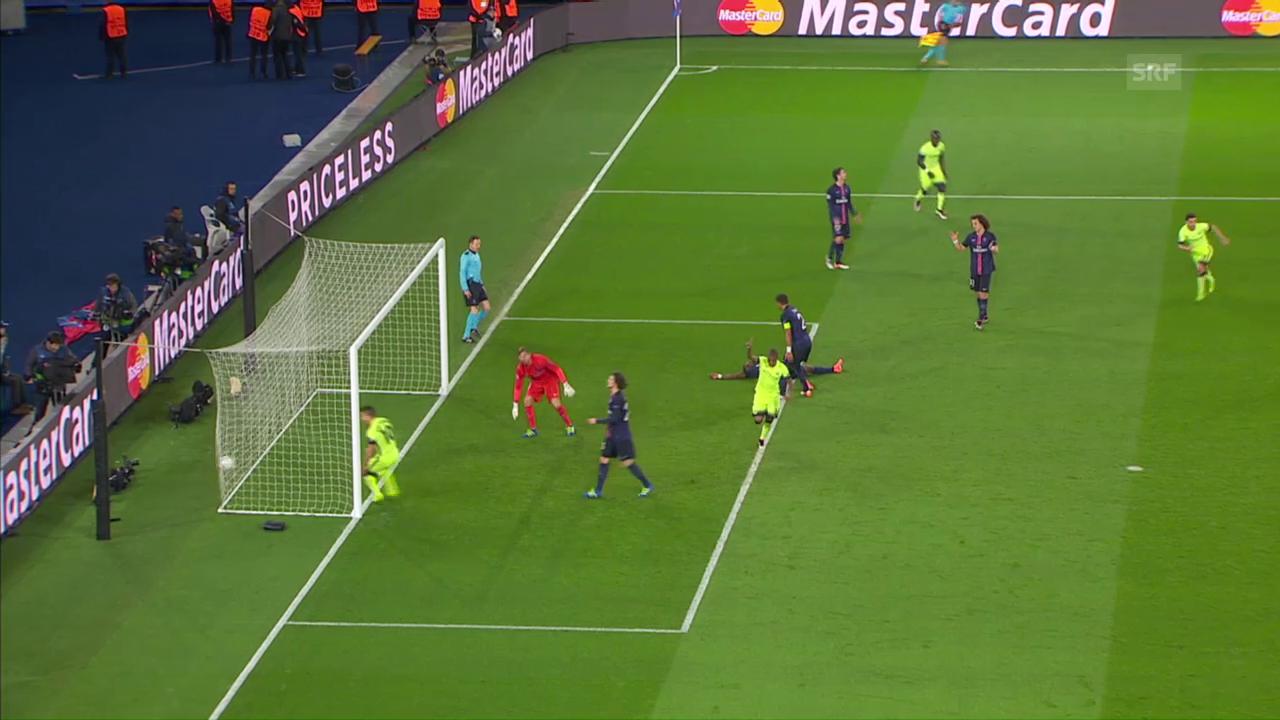 Manchester City erzielt im CL-Viertelfinal-Hinspiel den 2:2-Ausgleich gegen PSG