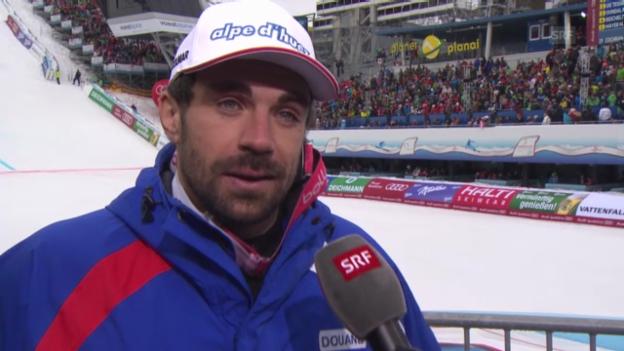 Video «Ski-WM: Interview mit Gauthier de Tessières» abspielen