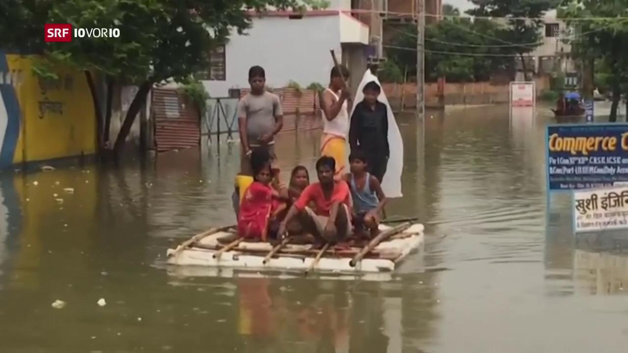 Die vergessene Flut in Südasien