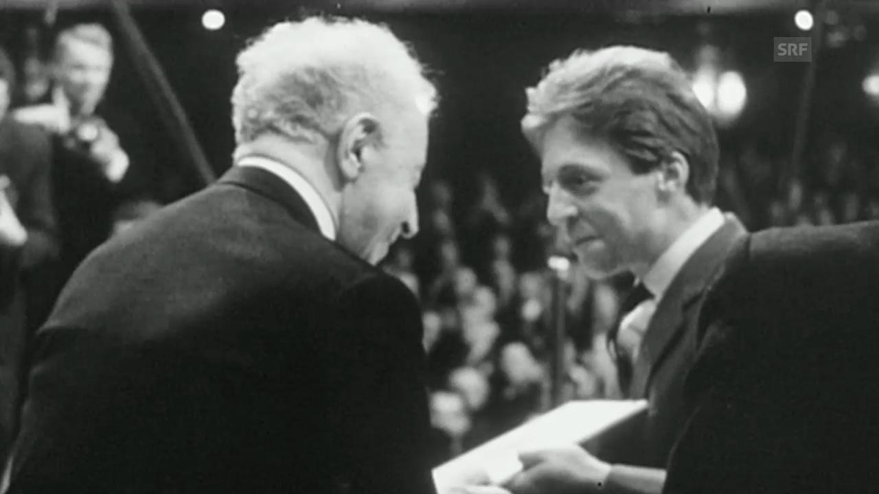 Pollini erinnert sich an die Begegnung mit Artur Rubinstein