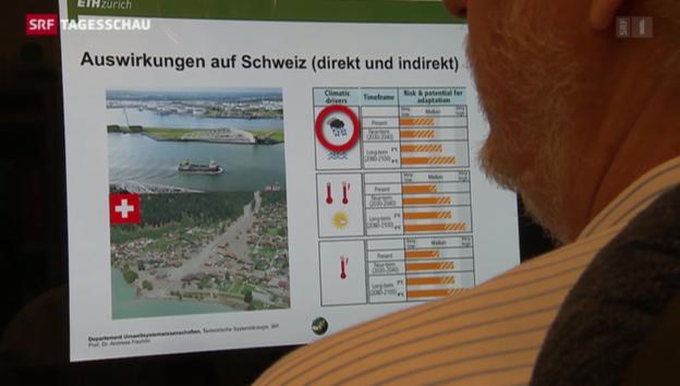 Video «Klimawissenschaftler warnen vor Erderwärmung» abspielen