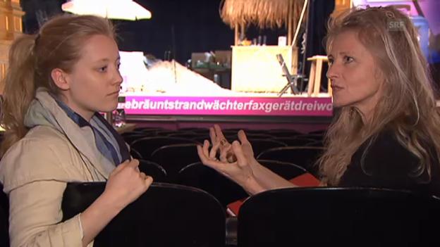 Video «Esther Gemsch und Tochter Anna über ihre Mutter-Tochter-Beziehung» abspielen