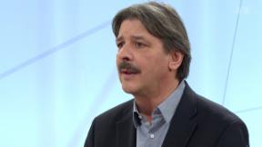 Video «Ausbau der AHV auf Kosten der AHV – Paul Rechsteiner im Studio» abspielen