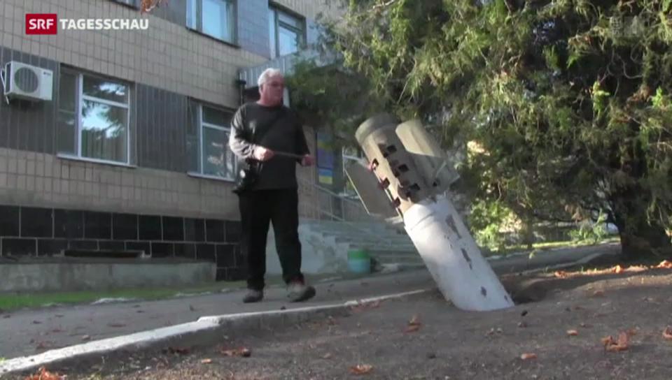 Hat die Ukraine Streubomben eingesetzt?