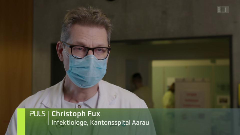 Fux: «Wir haben gelernt, dass man vor allem die überschiessende Entzündung behandeln muss.»