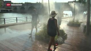 Video «Kälteinseln in Paris» abspielen