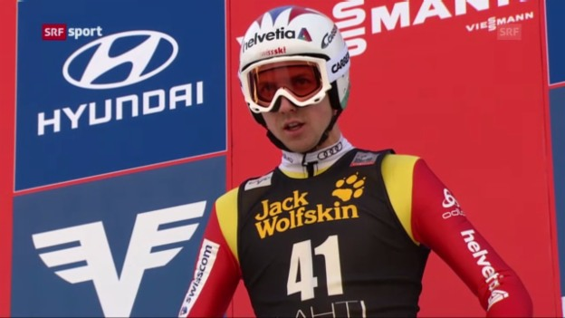 Video «Skispringen: Weltcup in Lahti» abspielen
