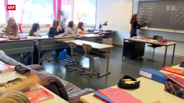 Video «Lehrer fordern mehr Lohn» abspielen