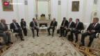Video «Frankreich und Russland gemeinsam gegen den IS» abspielen