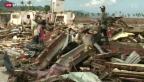 Video «Spendengelder für Tsunamiopfer zeigen Wirkung» abspielen