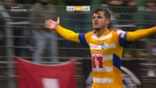 Link öffnet eine Lightbox. Video Luzern gewinnt in Lugano mit 2:1 abspielen