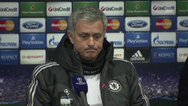 Video «Mourinho über das Wiedersehen mit Drogba (Quelle: SNTV)» abspielen