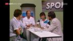 Video «40 Jahre «sportpanorama»: Die begehrten Stühle im Studio» abspielen