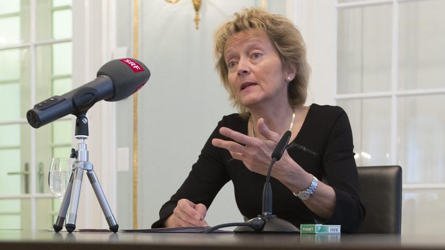 Widmer-Schlumpf kommentiert den Libor-Skandal der UBS (Geraldine Eicher, 20.12.2012)
