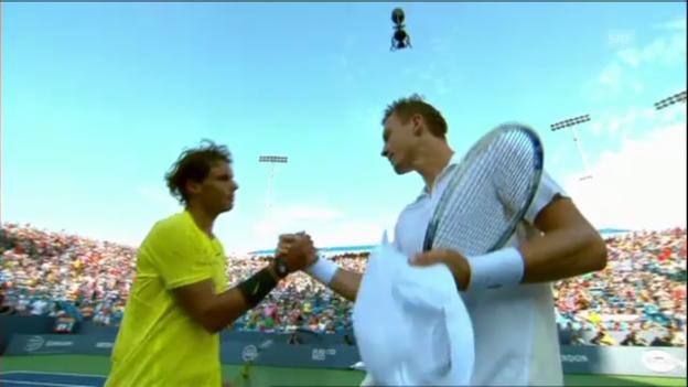 Video «Tennis: Nadal - Berdych: Wichtigste Ballwechsel (unkommentiert)» abspielen