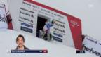 Video «Die Trainingsfahrt von Janka in Wengen» abspielen