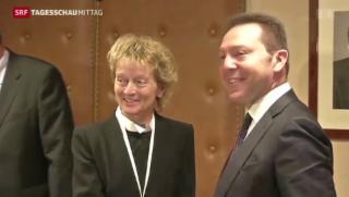 Video «Widmer-Schlumpf diskutiert Abgeltungssteuer für Griechen» abspielen
