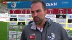 Video «Fussball: Super League, Stimmen zu Luzern - GC» abspielen
